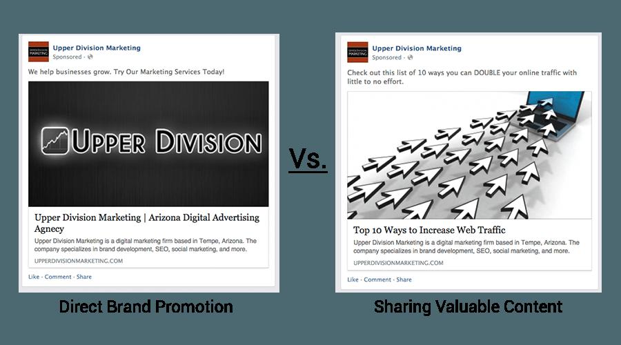 contentvspromotion