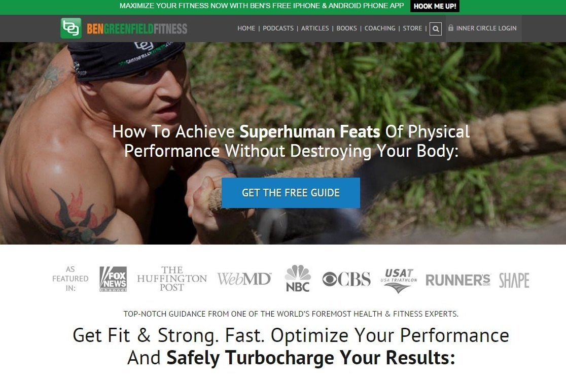 get fit & strong. Fast