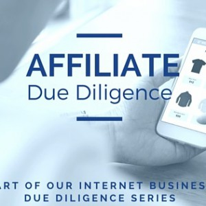 affiliate business due diligence
