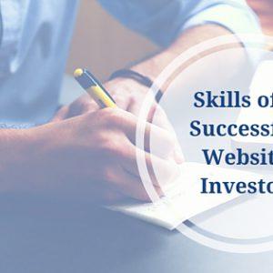 Skills of a Successful Website Investor