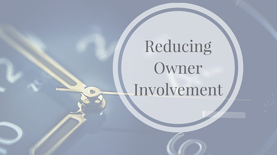 Reducing Owner Involvement (1)