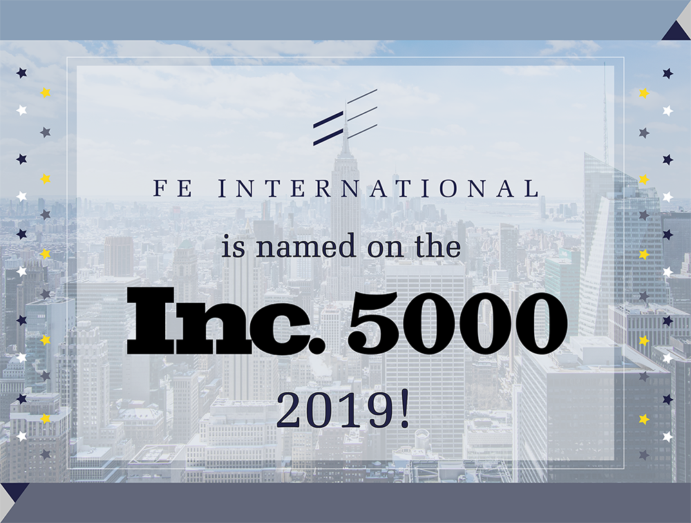 Inc 5000 2019 FE International