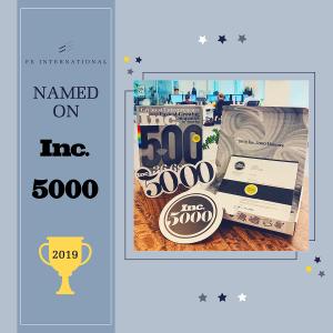 Inc 5000 2019 FE International