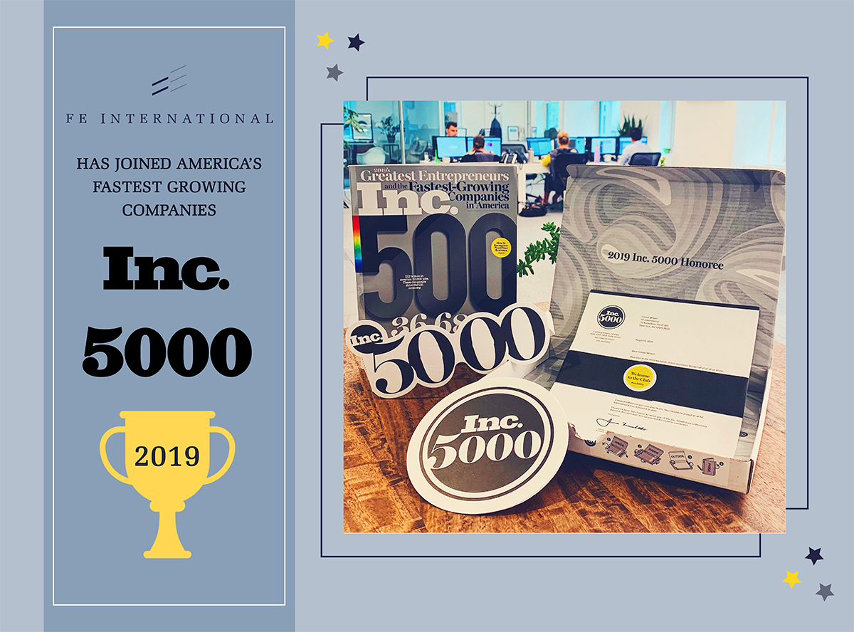 Inc 5000 2019 FE International US