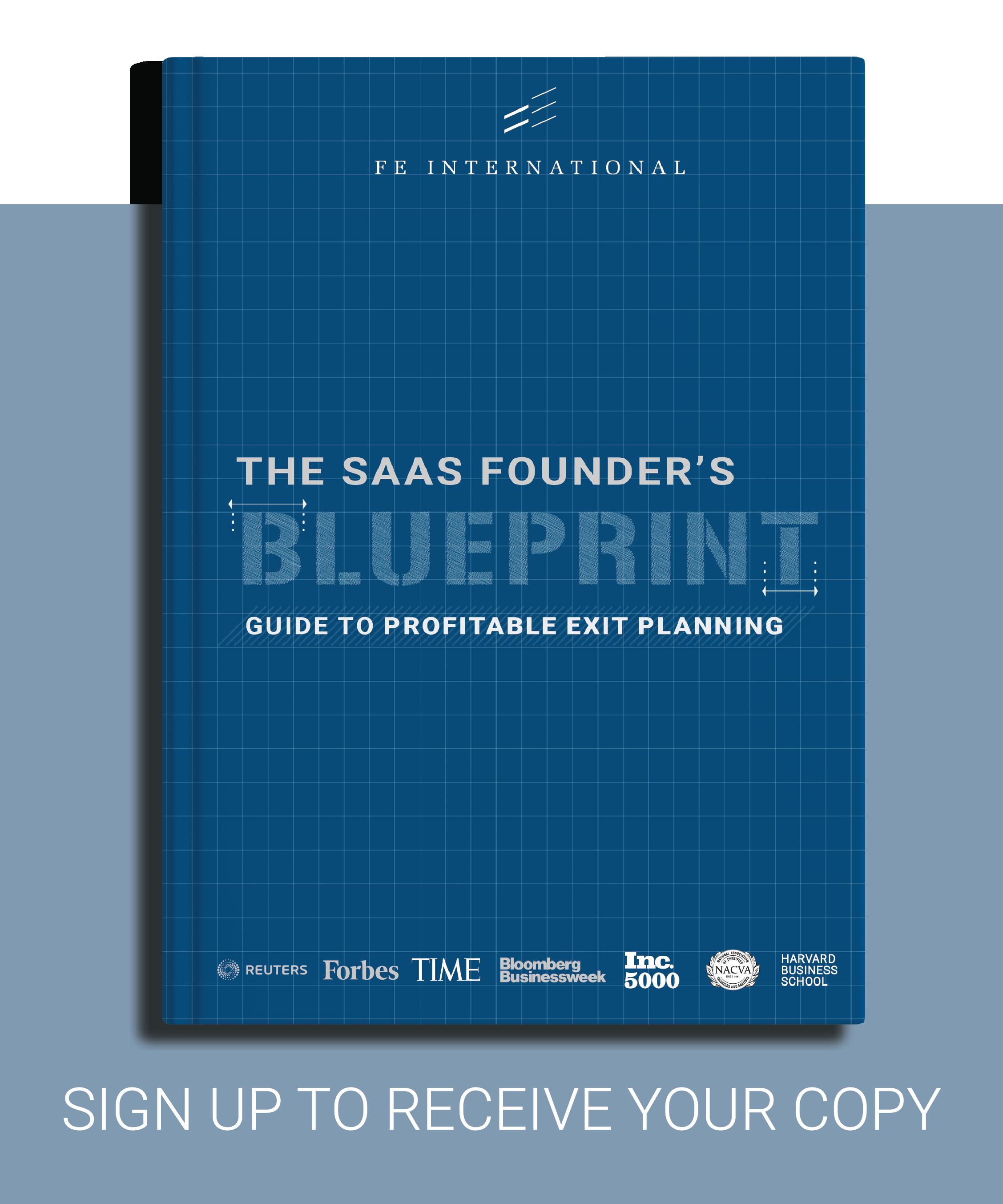 SaaS Exit Planning Ebook