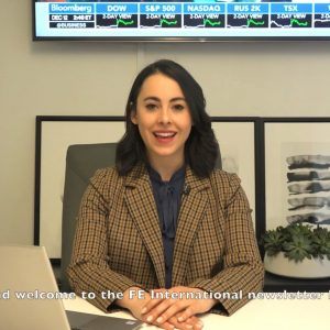FE International Newsletter Video Reporter